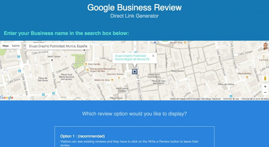 Google Review Direct Link Generator